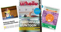 Joulukuun Vammaisurheilu & -liikunta -lehdessä teemana kuntoutus.