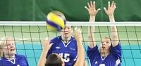 Slovenia pudotti Suomen mitalipeleistä naisten istumalentopallon EM-kilpailuissa.