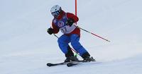 Pajulahti Games: Special Olympics -uimari Tatu Kantonen kulkee lujaa myös suksilla.