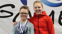 Sisarukset Santtu ja Milla kokivat Junior Games -kevätkisat eri rooleista.