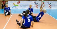 Ukraina lannisti Suomen naiset istumalentopallon EM-kisojen välierässä.