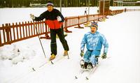 Helmikuussa hiihdetään.