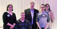 Erkki Lönnrot jatkaa Suomen Vammaisurheilu ja -liikunta VAU:n puheenjohtajana.
