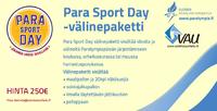 Tee-se-itse -Paralympiapäivä.