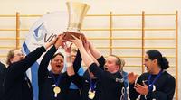Erkki Miinala heitti Old Powerin maalipallon Suomen mestariksi.