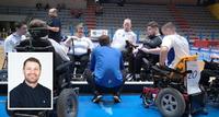 Valmentajan päivä: Valmentajalla on sähköpyörätuolisalibandyssa edessään monipuolinen palapeli.