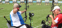 Forsberg ampui paralympiapaikan Rioon jousiammunnan MM-kilpailuissa.