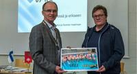Nastolan Rotaryklubi ui tukea vammaisurheilulle.