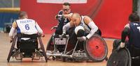 Ranska-tappio haihdutti Suomen välierähaaveet pyörätuolirugbyn EM-kilpailuissa.