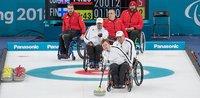 Pyörätuolicurlingjoukkueella nihkeä alku paralympialaisissa.