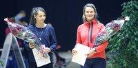 Soveltavan liikunnan ja vammaisurheilun opinnäytetyöstipendit Hurskaiselle ja Lumilalle.