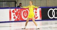 Special Olympics: Lumiketo ja Lahtinen luistelivat kärkeen laulun voimalla.