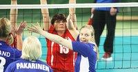 Suomen naisille toinen voitto istumalentopallon EM-kisoissa.