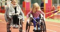 Vammaisille tytöille suunnattuja liikuntatapahtumia Vantaalla, Jyväskylässä, Rovaniemellä ja Kajaanissa.