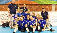 Suomelle neljäs sija istumalentopallon naisten EM-kisoissa.