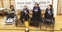 FC Inter Powerchairista sähköpyörätuolijalkapallon ensimmäinen Suomen mestari.