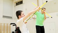 Jo satoja vammaisia ja tukea tarvitsevia lapsia löytänyt liikuntaharrastuksen Valtti-ohjelman kautta.