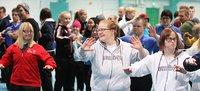 11 lajin Special Olympics -valmennusleiri Pajulahdessa 3.–4.10..