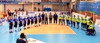 Upea 3–0-avausvoitto istumalentopallon naisten EM-kisoissa.