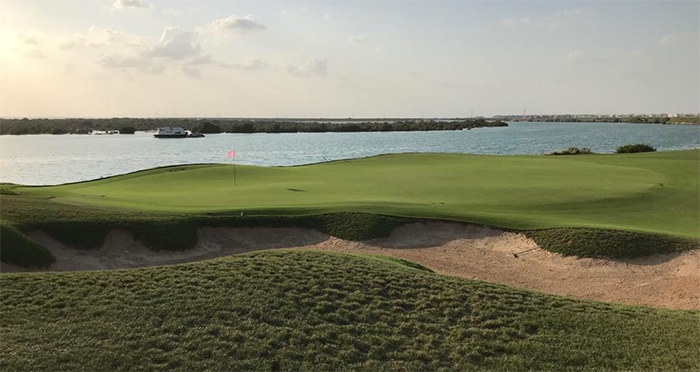 Yas Links Golf Abu Dhabissa